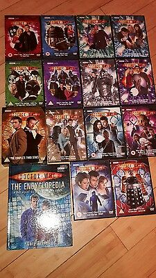 Dr Who Original Dvd Complete Series 1, 2, 3 & 4