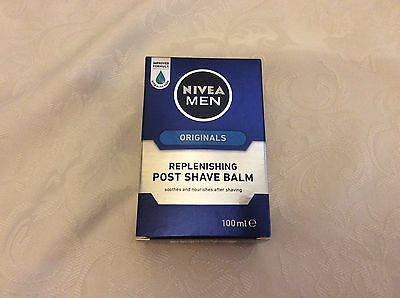 Nivea Men Originals Replenishing Post Shave Balm 100ml BNIB