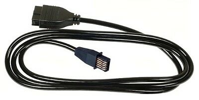 """Mitutoyo 905338, Digimatic SPC Connecting Cable, 40"""", Straight Type"""