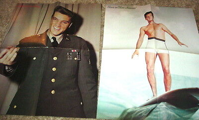 Elvis 8 Color Posters From A Magazine