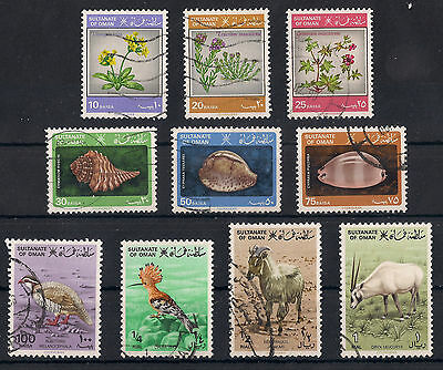 Muscat & Oman: 1982 Definitives: Stamps with Phosphorescent glow, fine used