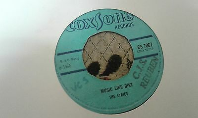 "The Lyrics ,Music Like Dirt , The Tonettes , I Give It To You ,7 "" Coxsone Label"