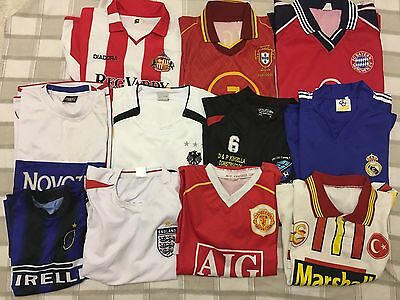 Job Lot Of 41 Sports & Football Shirts & 4 Pairs Of Shorts.