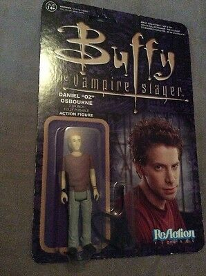 Buffy The Vampire Slayer Oz Reaction Figure With Guitar Accessory