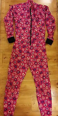 warmbac fleece caving under suit size small