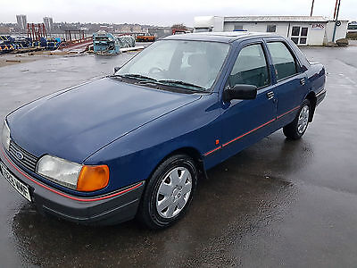 ford sierra sapphire 1 owner from new rust free car
