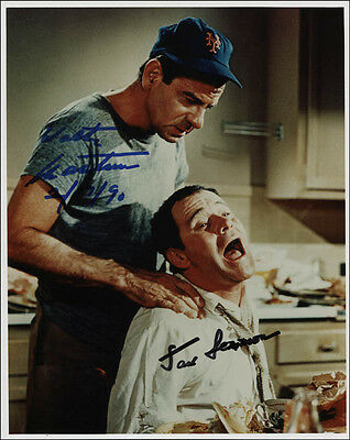 Odd Couple Movie Cast - Photograph Signed 02/17/1990 With Co-Signers