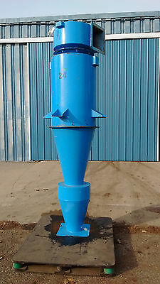 Cyclone Dust Collector - Separator, Model HE24,Steel, NEW, MAC Process Systems