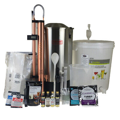 Still Spirits COPPER Turbo 500 Distillery Kit T500 System homebrew NEXT GEN