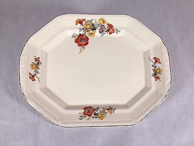 Vintage Edwin M Knowles China 15 Inch Platter 34-10