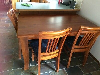 Dining Table & Chairs, 6 Seater