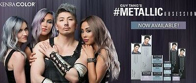 Guy Tang favorite  Kenra Color Metallic DEMI and Permanent Hair Color