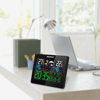 Color Wireless Weather Station Precision Forecast Temperature Humidity Barometer