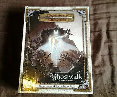 Dungeons and dragons 3.5 ghostwalk campaign setting