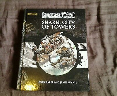 Dungeons and dragons 3.5 eberron sharn city of towers