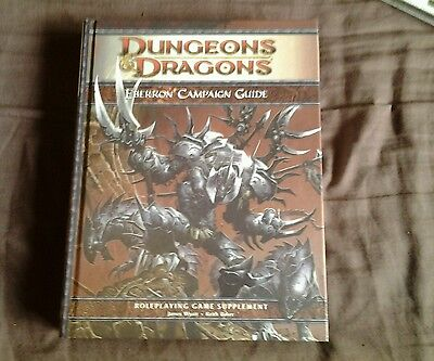 Dungeons and dragons 4th eberron campaign guide