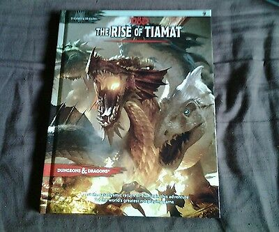 Dungeons and dragons 5th the rise of tiamat