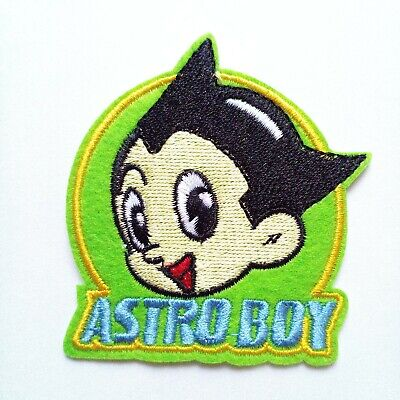 Mighty Atom Astro Boy Tezuka Production Legendary Japanese Anime Iron On Patch
