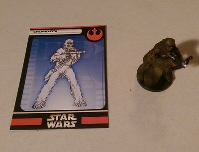 Star Wars Miniatures 2004 Rebel Storm CHEWBACCA 03/60 with Card Rare