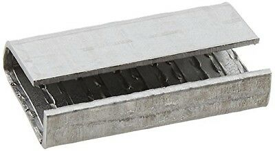 "Shoplet Select Polyester Strapping Seals, 5/8"" Serrated Open/Snap On -"