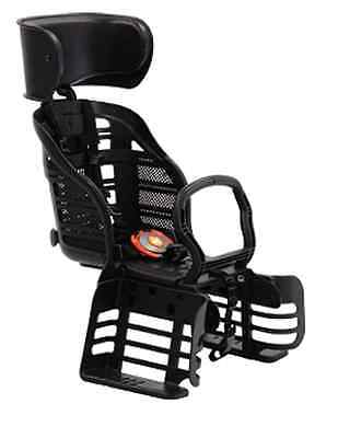 NEW OGK Bicycle Bike Child Behind Deluxe Seats with headrest RBC-007DX3 Black