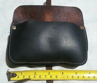 Vintage leather ' STAR APPROVED ' bicycle bike tool kit pouch bag
