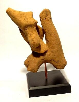 Tres Rare Figurine Syro Hittite - 2000 Bc - Western Asiatic Horse And Rider