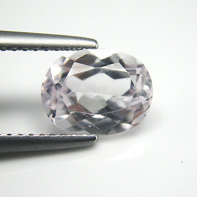 2.16Cts Natural Pink Kunzite Oval 9x7.1x4.6MM Loose Gemstone