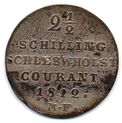 Germany States  -  Schleswig-Holstein  1812 Mf  1/24 Daler Coin