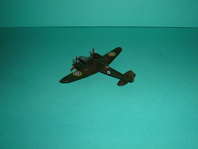Rare Dinky Toy Medium Bomber No, 60S - 1938-41 Camouflage Finish Silver Cockpit
