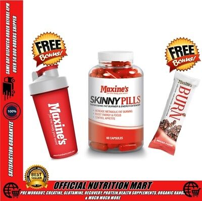 Maxine's Skinny Pills 60 Caps Maxines Thermogenic Energy Focus