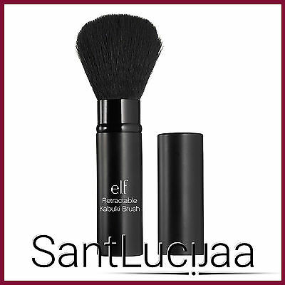 E.l.f Elf Retractable Kabuki Brush - Face Powder Bronzer Blusher Portable Brush