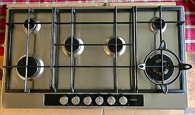 AEG Competence 6 burner Gas Hob - Stainless Steel
