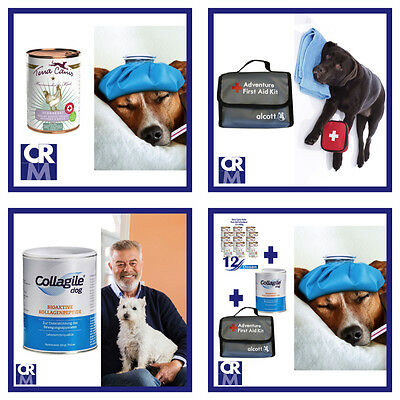 Dreier Bundle Collagile Dog Terracanis First Aid Erste Hilfe Set Hundefutter Not