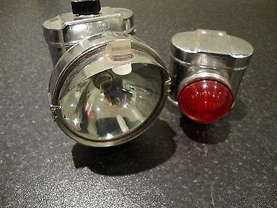 Raleigh Chopper Pifco Front & Rear Bicycle Lights