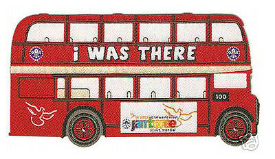 """2007 World Scout Jamboree """"I WAS THERE"""" IRON-ON BUS SCOUTS SHOP SOUVENIR PATCH"""