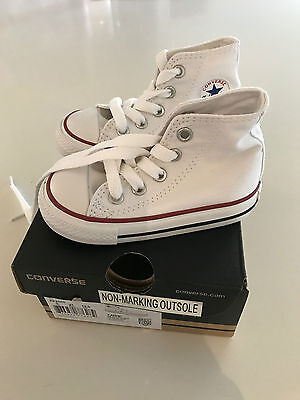 Converse Chuck Taylor All Star - Optic White Toddler Size 5