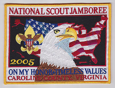 2005 USA Boy Scouts of America National Scout Jamboree Official Backpatch (BP)