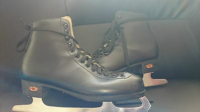 Riedell Ice Skating Boots - Adult Size 9