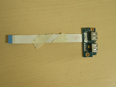 Toshiba Satellite A500 A505 2X USB Board with cable LS-5006P