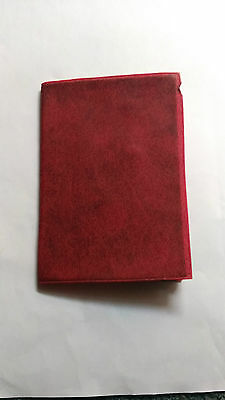 Albania Very Wonderful Reisepass Travel Document Expired Passport Red Page