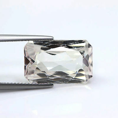 Top Quality 12.99Cts Natural Pink Kunzite Octagon Untreated Loose Gemstone