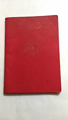 Albania Very Wonderful Reisepass Travel ,,document Expired Passport Red Page