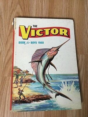 """The Victor Book for Boys 1968"" Comic Annual from 48 years ago"