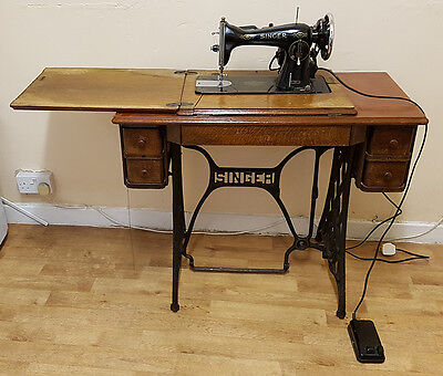 Gorgeous Singer 15K Industrial Strength Electric Sewing Machine with table