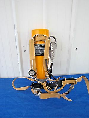 Scott 2.2 Wire Frame Air Pack SCBA Harness and 2216 Air Pak Aluminum Bottle