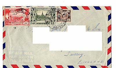 Burma -  probably 1953 cover