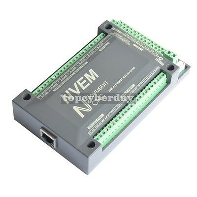 3 Axis 200Khz CNC Mach3 Ethernet Controller Spindle Motor Breakout Board In USA