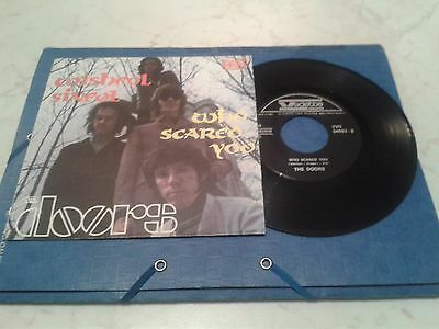 the doors - wishful sinful-who scared you  45 vedette italy ottimo