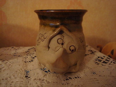 Pretty Ugly Pottery Pot Welsh Pottery Made In Wales